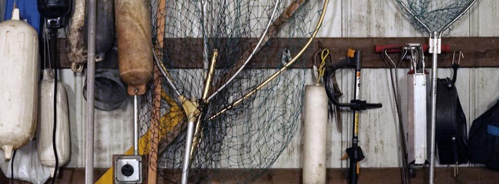 Forellenangeln Ausrüstung.